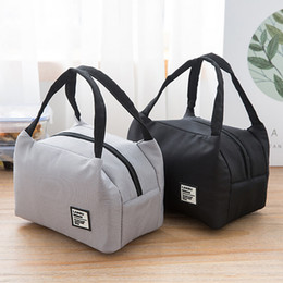 $enCountryForm.capitalKeyWord NZ - Portable Lunch Bag 2019 New Thermal Insulated Lunch Box Tote Cooler Bag Bento Pouch Lunch Container School Food Storage Bags