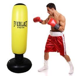 Großhandel Fitness Aufblasbare Kinder Boxsack Stress Punch Tower Geschwindigkeit Bag Stand Power Boxen MMA Zieltasche Für Kinder Teenager
