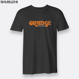 $enCountryForm.capitalKeyWord Australia - The British Guitar Amps Orange Short Sleeve Regular Tees Black Men's T-shirt Newest Top Tees,Fashion Style Men Tee sbz4305