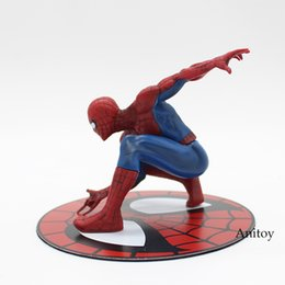 China Toys Hobbies Action Toy Figures ARTFX + STATUE Spiderman The Amazing Spider-man PVC Action Figure Collectible Model Toy 12cm KT3715 supplier toy boy movie suppliers