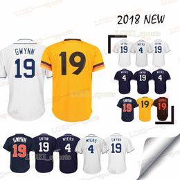 4a68503a0 Padres Jerseys Canada - San Diego Padres jerseys 19 Tony Gwynn 4 Wil Meyers  2019 New