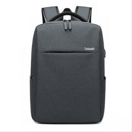 HigH scHool notebooks online shopping - New Anti theft Men Bag Oxford Laptop Notebook Backpack USB Charging Travel Business School Bag For Male High Quality Waterproof