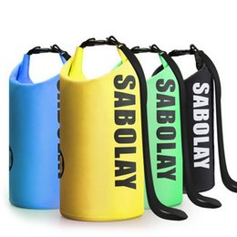 Mobile Gear Australia - Floating Waterproof Dry Bag Roll Top Sack Mobile Phone Storage Pouch Keeps Gear Dry For Kayaking Rafting Boating Swimming #1001273