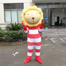Make lion costuMe online shopping - 2018 High quality hot adult lion animal mascot costumes fancy dress for party good quality can be customized