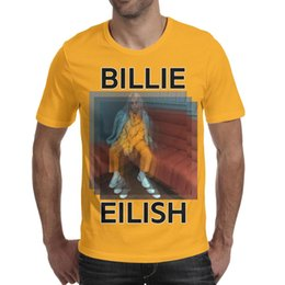 $enCountryForm.capitalKeyWord Australia - 47 best Billie Eilish images Men's T Shirts Retro Fitness Cotton Short Sleeve Shirts Man Gym T Shirt Casual T Shirts for Man