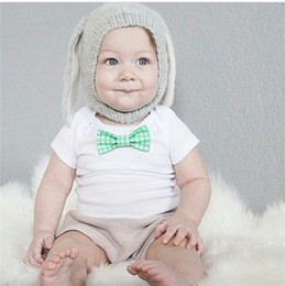 $enCountryForm.capitalKeyWord Australia - 0-3years Kids Knitted Hats Baby Winter Toddler Infant Knitted Baby crochet Hats Adorable Rabbit Long Ear Hat Baby Bunny Beanie Caps
