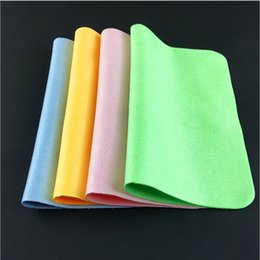 Wholesale DHL shipp 15X18CM clothes suede mirror cloths microfiber mobile phone screen lens wiping cloth GSCJB009