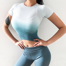 $enCountryForm.capitalKeyWord NZ - Sports Top Sexy Open Back Fitness Shirt High Elasticity Quick Drying Breathable Yoga Top Leisure Workout Running Clothes