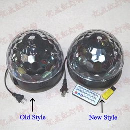 $enCountryForm.capitalKeyWord Australia - LED Stage Lighting 3W 6W Voice Controlled Crystal Magic Ball MP3 KTV Bars Colorful Lights RBG