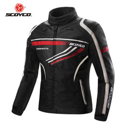 $enCountryForm.capitalKeyWord Australia - SCOYCO JK37 Motorcycle Jacket Moto Riding Coat Reflective Man Clothing Protection Body Armor Suit Protector Equipment Jackets