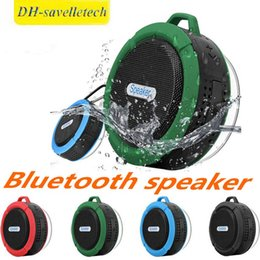 $enCountryForm.capitalKeyWord Australia - C6 Speaker Bluetooth Speaker Wireless Potable Audio Player Waterproof Speaker Hook And Suction Cup Stereo Music Player new by DHL