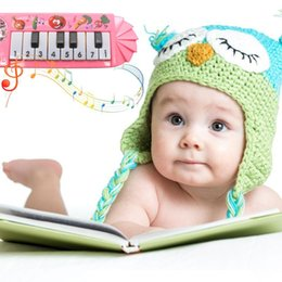 Wholesale Fashion New Portable Children Cute Keyboard Piano Early Educational Musical Toy Fashion New Toy Musical Instruments