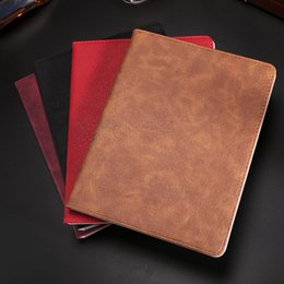 Books For Ipad NZ - Litchi Stria Grain PU Leather Book Style Pad Cases for iPad Mini 2 3 4 Ultra thin 4 colours Stand Case 9.7 inch iPad Pro Air 2 Folding Cover