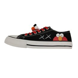 $enCountryForm.capitalKeyWord Australia - Gym Casual Shoes Female 2019 New Anti-skid and Wear-resistant Sesame Street Explosion Gift Two pairs of Shoelaces and Big Eye Clear Shoes