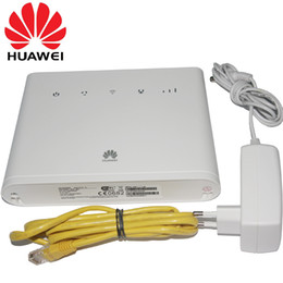 Unlocked HUAWEI B310 B310S-22 150Mpbs 4G LTE CPE Wireless Router Wiht Sim Card Slot Support B1 B3 B7 B8 B20 plus 2pcs Antenna on Sale