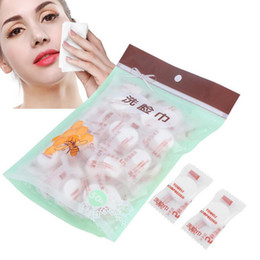 $enCountryForm.capitalKeyWord NZ - 50pcs lot Outdoor Travel Magic Compressed Cotton Disposable Towel Tablet Cloth Wipes Paper Tissue Mask