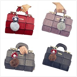 spring handbags 2019 - FGGS The new spring summer women bag PU leather suture Boston bag inclined shoulder women leather handbags 4 colors chea
