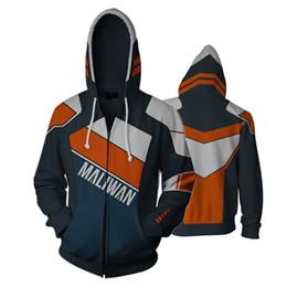$enCountryForm.capitalKeyWord Australia - Game Borderlands 2 Full Zip Thin Hoodies Cool Pullover Coat Jacket Unisex Jumper Sweatshirt Cospaly