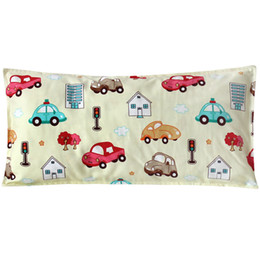 $enCountryForm.capitalKeyWord Australia - Cotton Little Pillow For Infant Toddler Kids Cartoon Head Cushion Soft Pillow Cover And Core Baby Neck Support Cushion