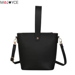 $enCountryForm.capitalKeyWord NZ - PU Leather Women Shoulder Bag Girls Fashion Solid Color Crossbody Messenger Bags Ladies Top-handle Handbag bolsa feminina