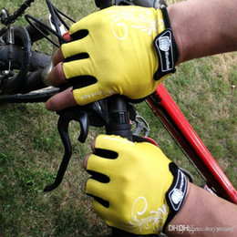 $enCountryForm.capitalKeyWord Australia - Baseball Waterproof Cycling Gloves Outdoor Sports Body-Building Weight Lifting Racing Bicycle Riding Protective Semi Finger Skidproof Gloves
