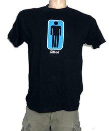 Ego T Black Australia - GIFTED - Men's Ego retro funny Black T shirt M,L,XL,XXL,3XL fashion free shipping 2018 Hot Summer Casual Printing Men's T-shirt Cool