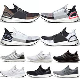 sports shoes ae291 300c6 Scarpe Da Trail Running Scarpe Da Corsa Economiche Uomo 3.0 Ultra Triple  Black White Core Oreo Sneaker Sportivo Grigio Scuro CNY Sneakers Taglia 36  47 ...
