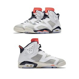 China 6 Carmine Basketball Shoes Classic 6s UNC Black Blue White Infrared Low Chrome Women Men Sport Shoe Oreo Alternate Oreo Cat With Box cheap golf classic suppliers