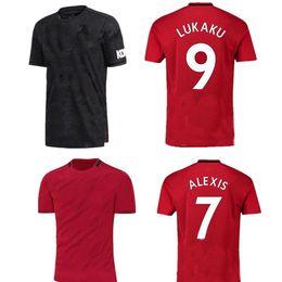 7344bb74ab4 2019 2020 Manchester RASHFORD red Man Lukaku United POGBA UTD 19 20 soccer  Jerseys 2018 19 kids football shirt Kit MARTIAL LINGARD maillots