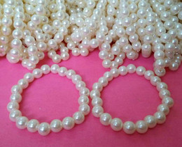 pearl bead elastic Australia - 8mm glass pearl beads bracelet,Elastic bracelet ,fashion bracelet ,bead bracelet,beads jewelry making