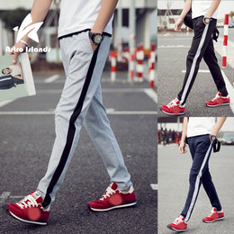 $enCountryForm.capitalKeyWord Australia - Wholesale-2016 Summer Mens Brand Fashion Slim Fitness Walk Pants Joggers Casual Comfort Clothes Casual Trousers Hommes Plus Size WS892