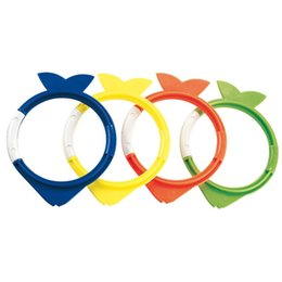 Play mix online shopping - Swimming Pool Toys Water Play Diving Ring Beach Grab Stick Outdoor Sport Colors Mix Four Suits Holiday Summer jmf1