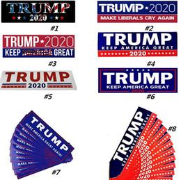$enCountryForm.capitalKeyWord NZ - US President Donald Trump Sticker Publicity Car Sticker Fashion Poster Exquisite Stickers 10pcs Home Garden Stickers Party Decoration 6002