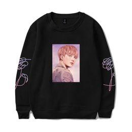 $enCountryForm.capitalKeyWord Australia - kpop K-pop kpop Sweatshirt Women Love Yourself Stay Picture SUGA Capless Sweatshirt Hip Hop Female Fans Idol Closthes 4XL