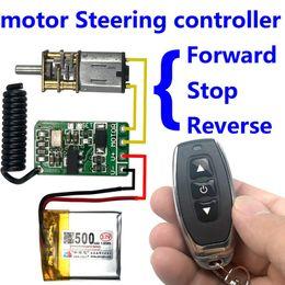 $enCountryForm.capitalKeyWord Australia - wireless remote control switch 433mhz rf transmitter receiver 3.7v 4.5v 9v 12v motor Forward Reverse steering Controller module