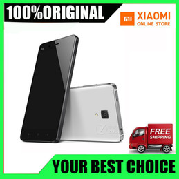China Chinese Camera Australia - Xiaomi Mi4 Mi 4 Dual Sim Phone 4G FDD-LTE MIUI 6 Quad Core Smartphone RAM 2GB ROM 16GB 5.0 inch 1920*1080 FHD 13.0MP Cheap Phone From China