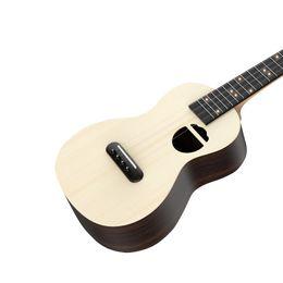 Discount soprano ukulele guitar - 2019 Poputar Populele S2 Acoustic Electric Guitar Smart Soprano Ukulele 23 Inch Mini Guitar Ukulele Concert for Beginner