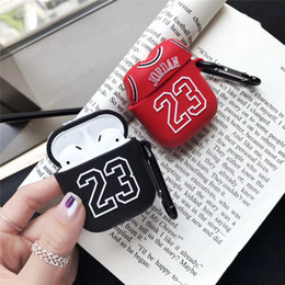 Soft fan online shopping - Cases Number Fans Soft Silicone Earphone Case for AirPods Protection Wireless Bluetooth Headset Cover Earphone Accessories