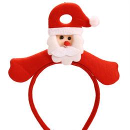 $enCountryForm.capitalKeyWord Australia - Fashion Christmas Santa Decoration Hair Hoop Hair Accessories For Baby Girls Fashion New Pregnant Baby