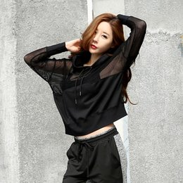 T Shirt Loose Australia - Fitness Breathable Outwear Women T Shirt Suit Loose Top Hiking T-shirts Comfortable Shirt Clothes Hooded Sport Jacket New