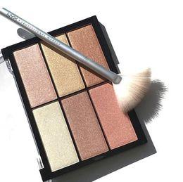 $enCountryForm.capitalKeyWord UK - NYX Born To Glow Eyeshadow Palette Ombre 6 colors Eyeshadow Palette Nude Shimmer Matte Eye shadow Makeup Cosmetics palette