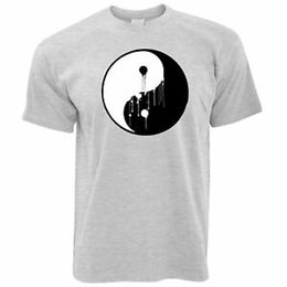 $enCountryForm.capitalKeyWord Australia - Art T Shirt Painted Dripping Ying Yang Balance Symbol Chinese Peace Energy