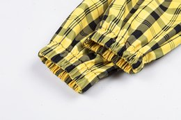 Wholesale two tone jumper online – oversize Women Sweater Sweaters Woman Navy Preppy Highstreet Striped Two Tone Pattern Colorblock Jumper Autumn Campus Women Pullovers Sweaters