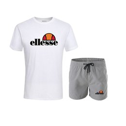 Best sportswear online shopping - Brand Designer Luxury Mens Tracksuits Summer T shirt Pant Sportswear Fashion Casual Sets Short Sleeve Running Jogging Best Quality Plus Size
