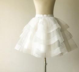 Cupcake Making Australia - Custom Made Size Plus Size Party Prom Adult Wear Adult Womemn Tutu Skirts Bridesmaid Tutu Cupcake Tulle Skirt Lady Formal Skirts TS0011