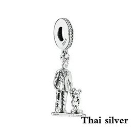 $enCountryForm.capitalKeyWord NZ - 2019 NEW Sterling Thai Silver Retro Charm Cartoon Fairy Hand Pendant Pendant Original Jewelry Limited Collection Brand Direct