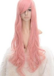 $enCountryForm.capitalKeyWord UK - WIG free shipping Popular Long light pink curly cosplay party wig