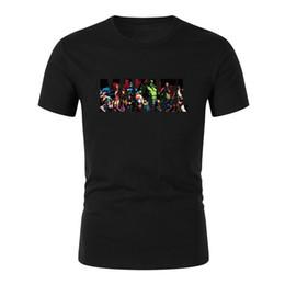 $enCountryForm.capitalKeyWord Australia - New Fashion Marvel Short Sleeve T-shirt Men print Cotton t shirt O-neck comic Marvel shirts tops men clothes Tee
