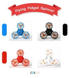 Low fidget spinners online shopping - Flying Boomerang Fidget Rechargeable Automatic Rotatable Low Speed Flying Fidget Spinner Spinning Top Pressure Reliever Toy