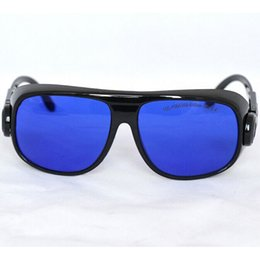 Field Lens Australia - Wide Spectrum Continuous Absorption Laser Protective Glasses Large Field EP-16 OD5+ Protect 190-400&560-640nm for 4X frequency Nd:YAG